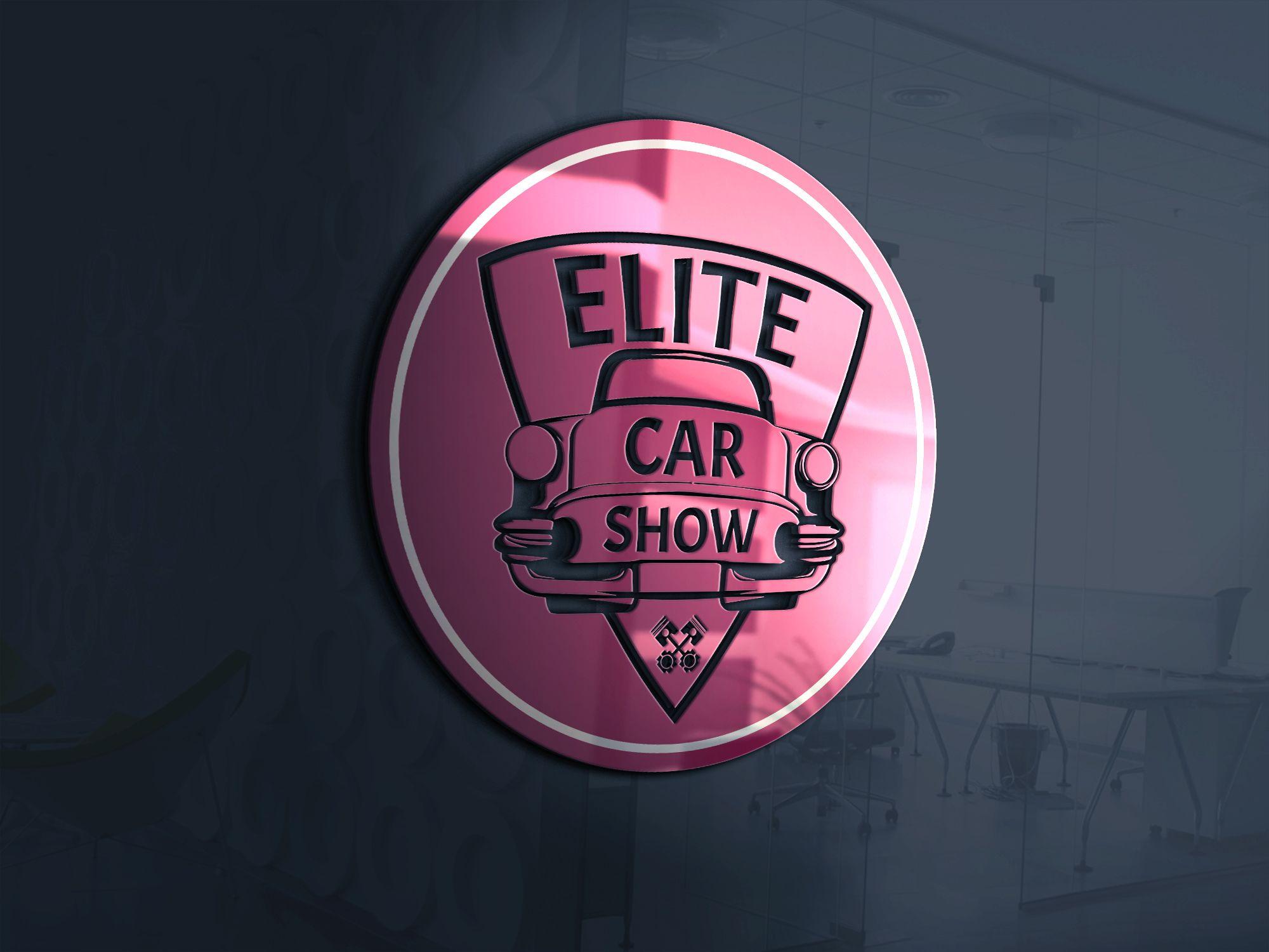 Logo Design For Elite Car Show. For More Logos Please