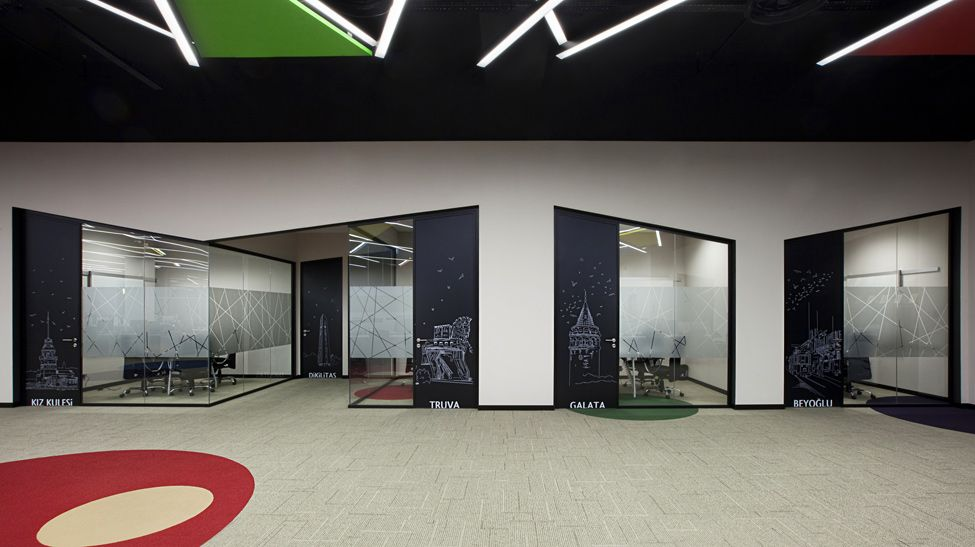 High Quality The Awesome E Bay Offices Interior Design Nice Look
