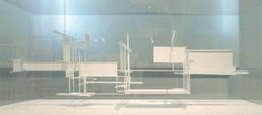 Frederick Kiesler Modell der Raumstadt im Maßstab 1:20, Rekosntruktion von Coop Himmelb(l)au unter Mitarbeit von Markus Pillhofer und Eva Diem, 1925/2006, Foto: Peter Popp