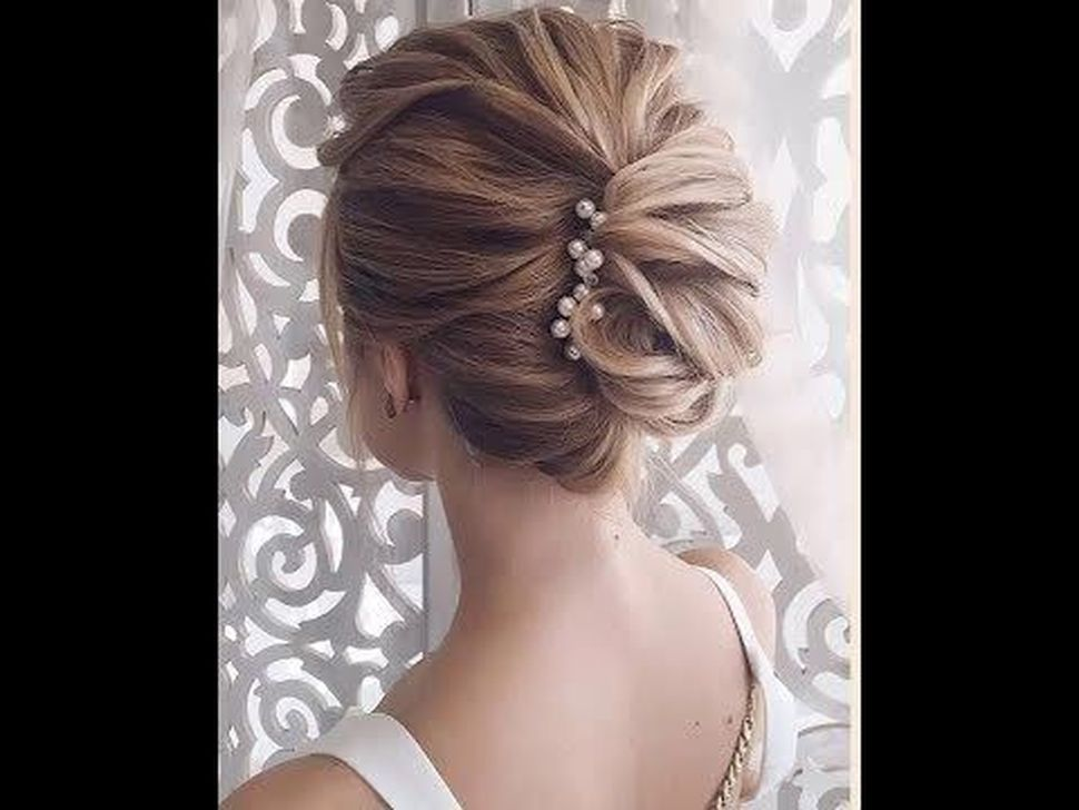 99 Gorgeous Short Hairstyles Ideas For Valentine'S Day | Elegant hairstyles, Bun hairstyles ...