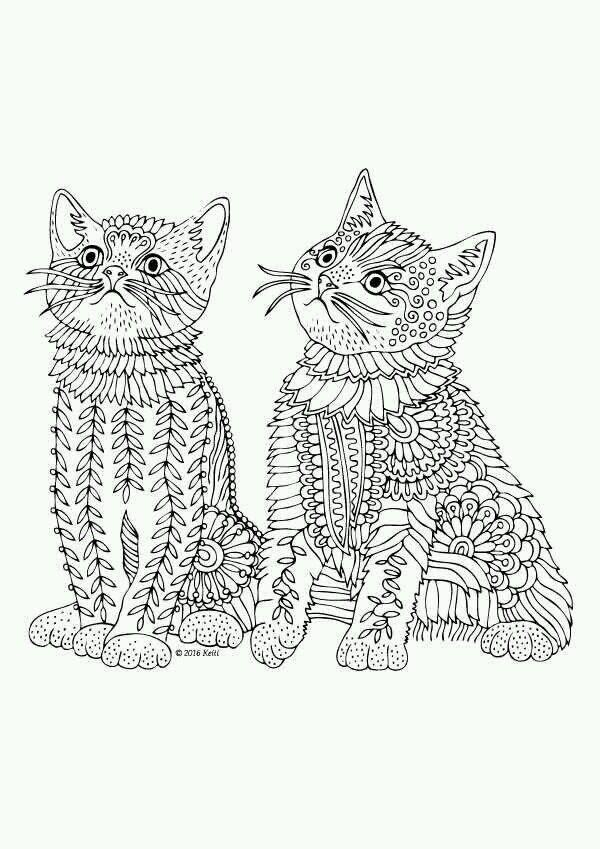 Pin de Irma Acuña en indu | Pinterest | Mandalas, Estrés y Gato