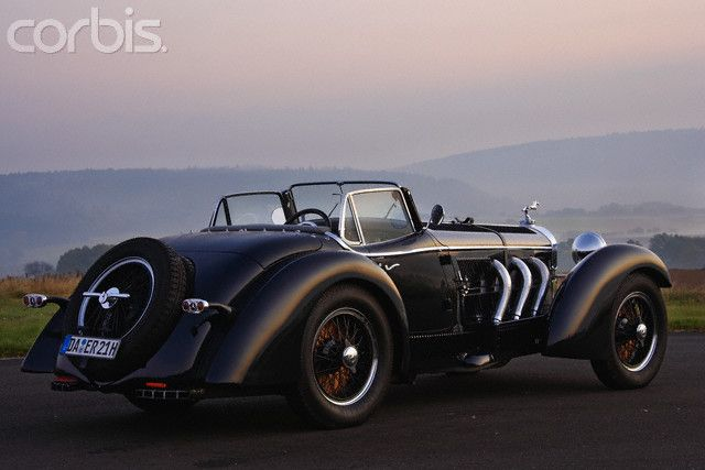 1933 mercedes benz ssk erdmann and rossi roadster