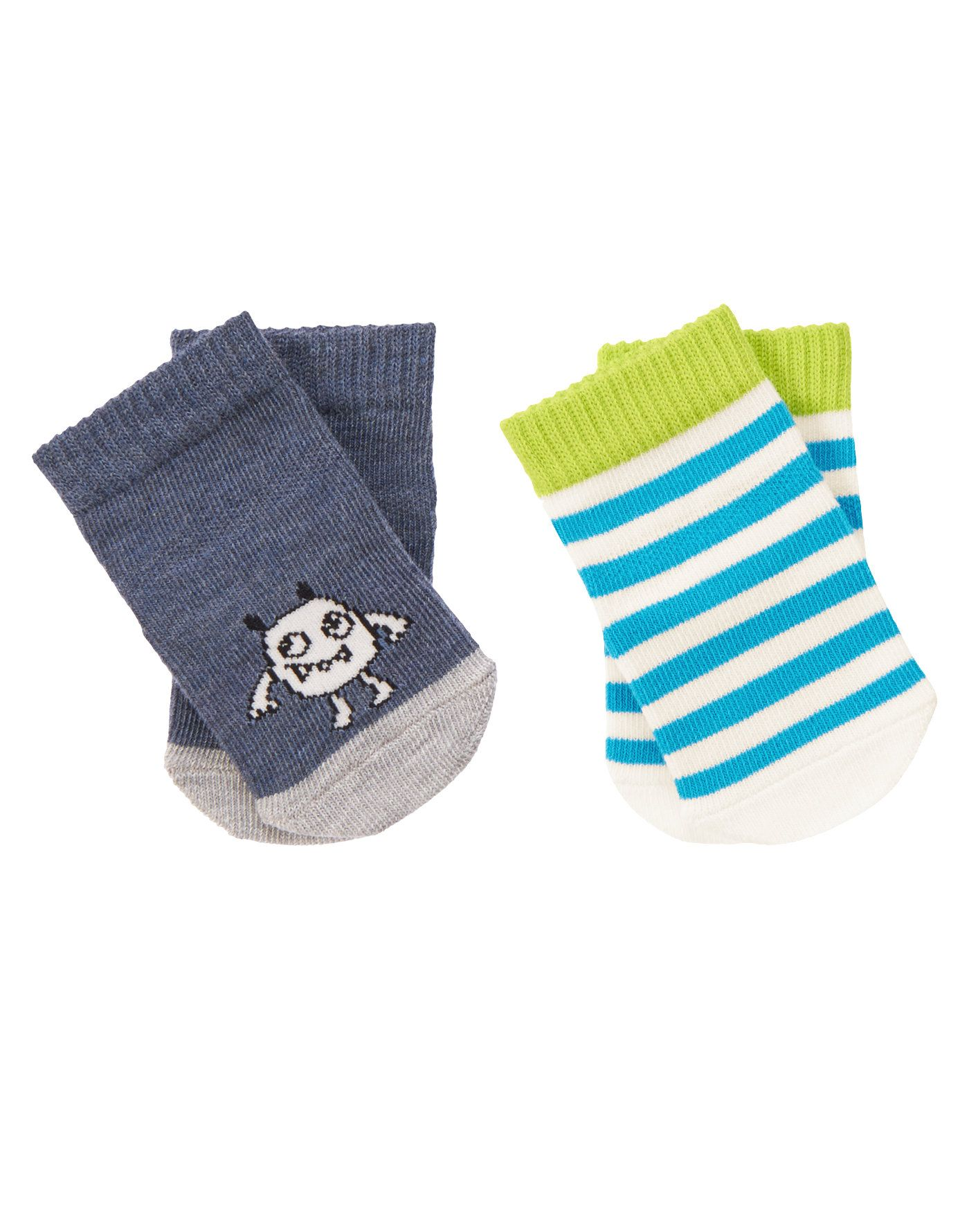 Baby Monster Socks Two Pack at Gymboree Collection Name Fun