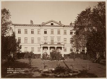 Fiskarsin kartanon päärakennus. Kuva: Ståhlberg, Museovirasto (19580401:697).