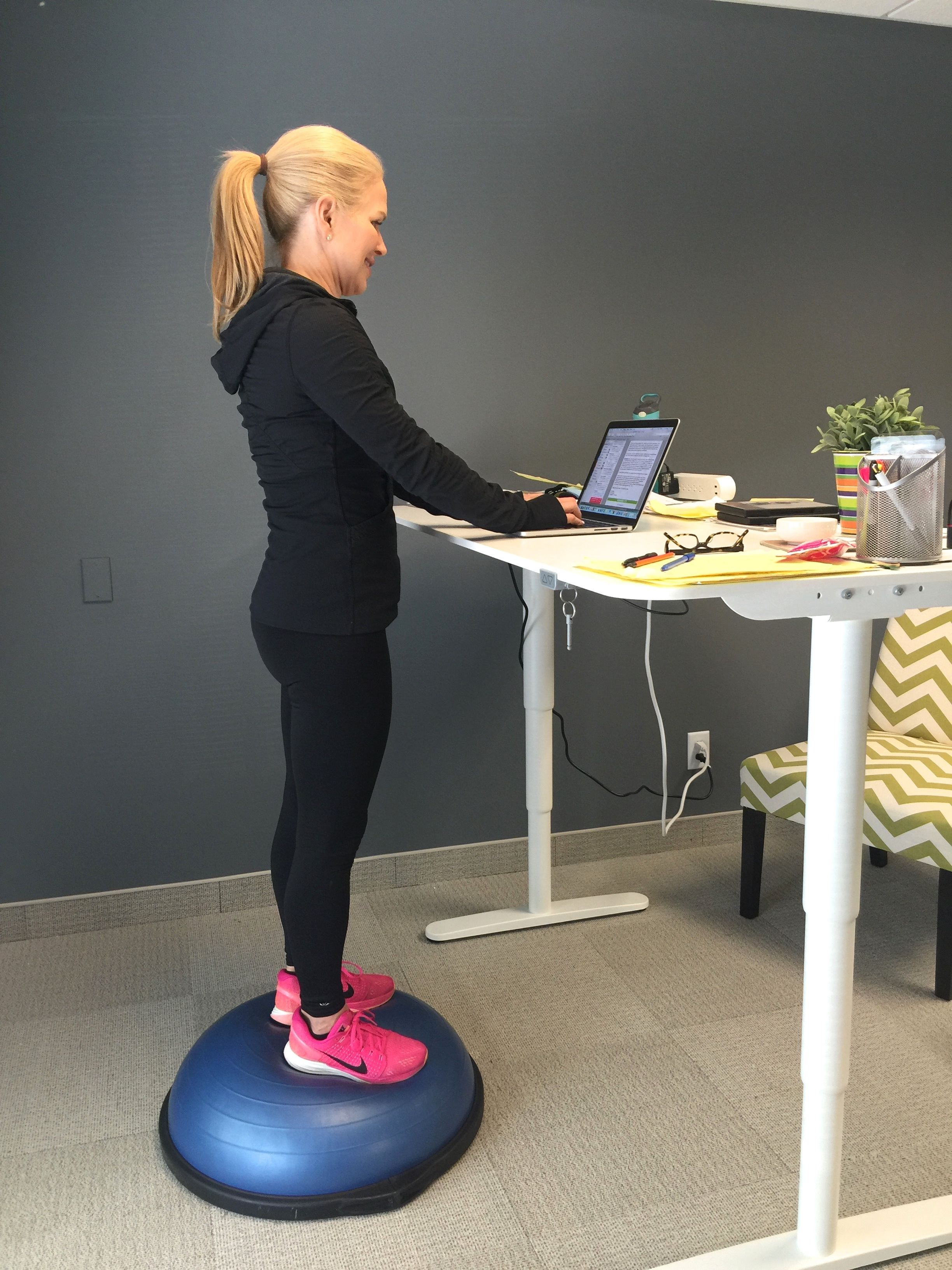Magnificent Stand Up Desk Workout Sitting For Too Long Has Eventually Frankydiablos Diy Chair Ideas Frankydiabloscom