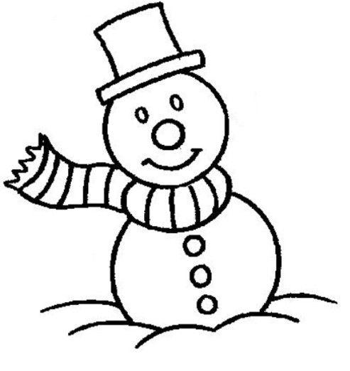 ausmalbilder winter  ausmalbilder für kinder