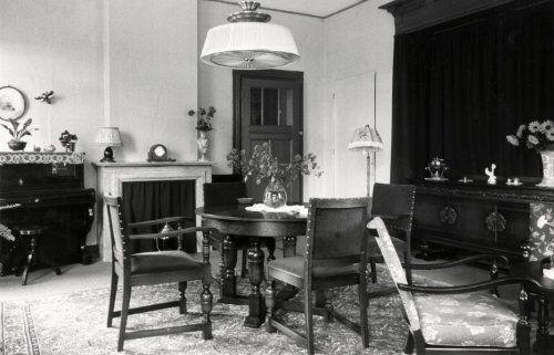 interieur van hotel union in rotterdam de ontvangstsalon nederland 1940