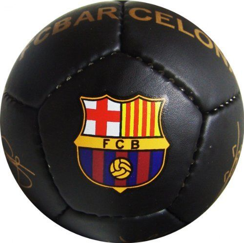 fd24fbfe19a Official F.C. Barcelona Mini Soccer Ball (Size 1). Officially Licensed.  Perfect for display or a play with the littlest fans.