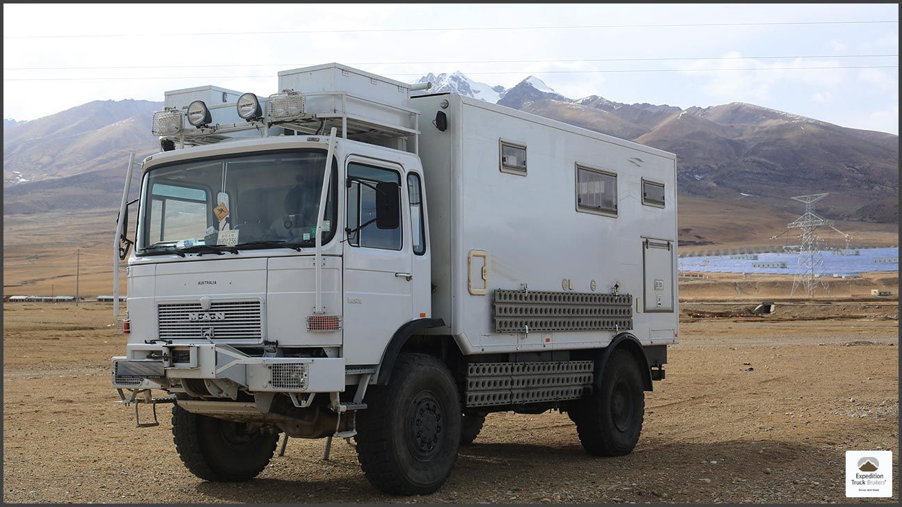 MAN 14 192 4x4 Expedition Truck  It's for sale in South East Asia