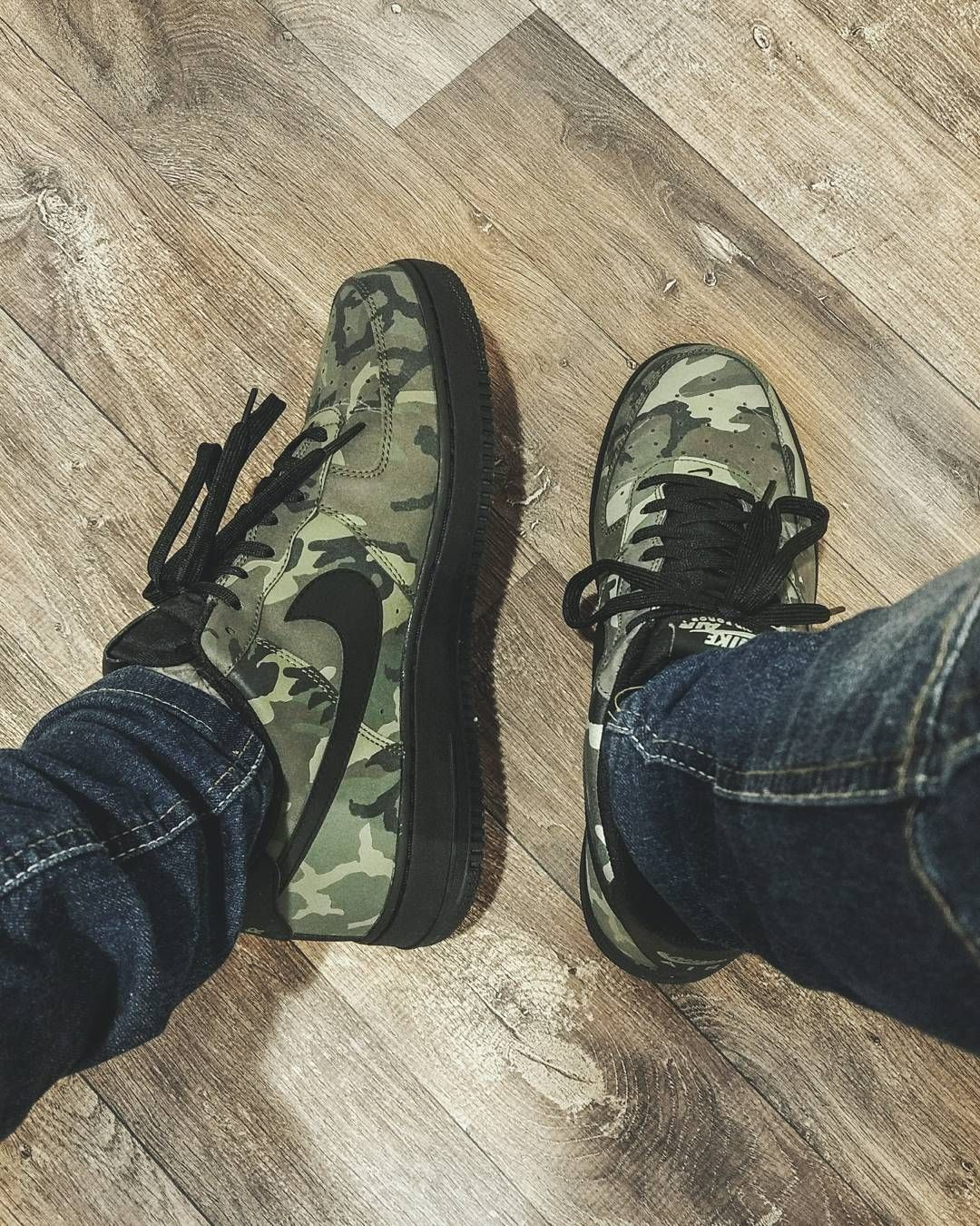nike air force 1 camuflado