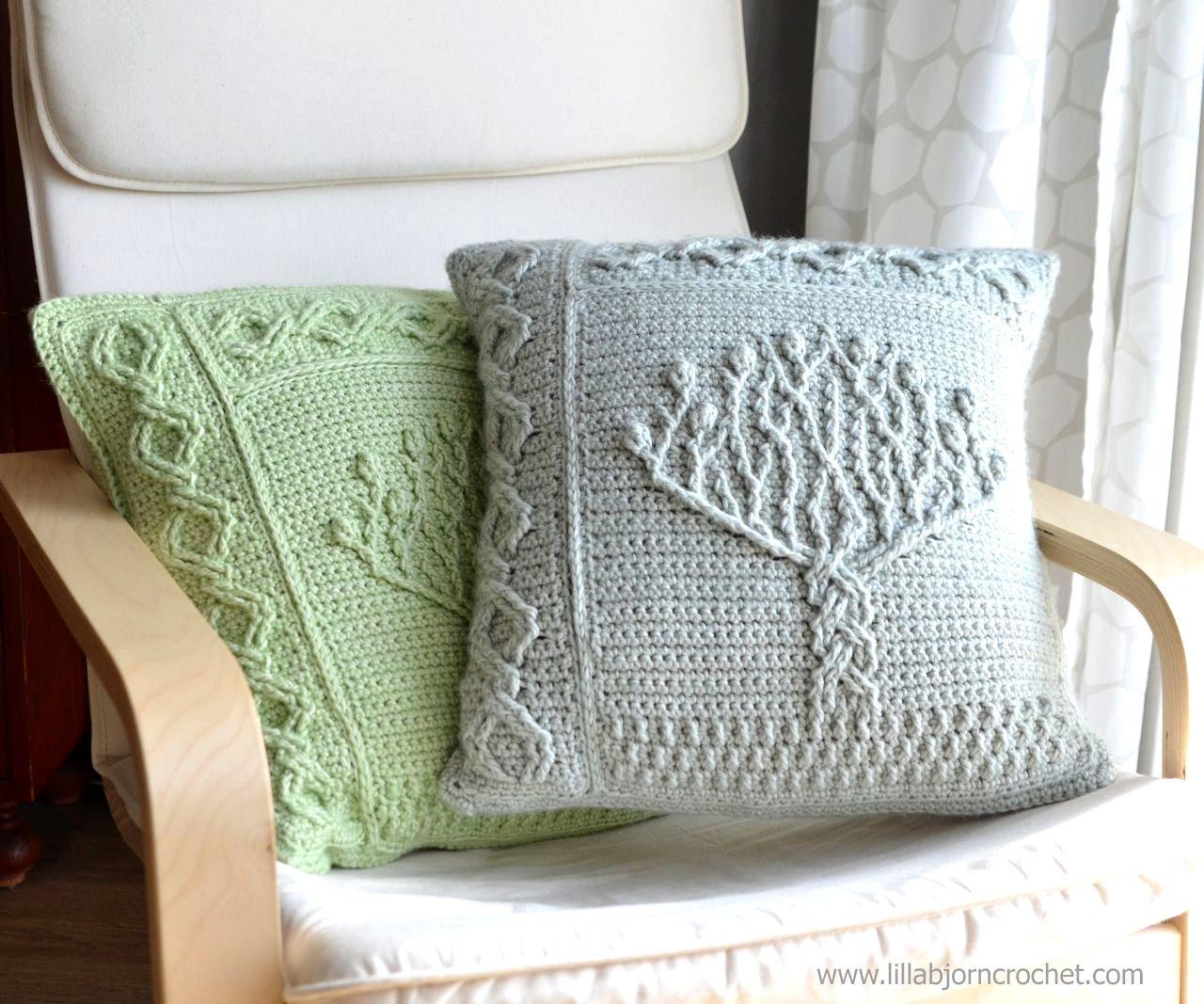 Tree of Life pillow - overlay crochet pattern by Lilla Bjorn | Got ...