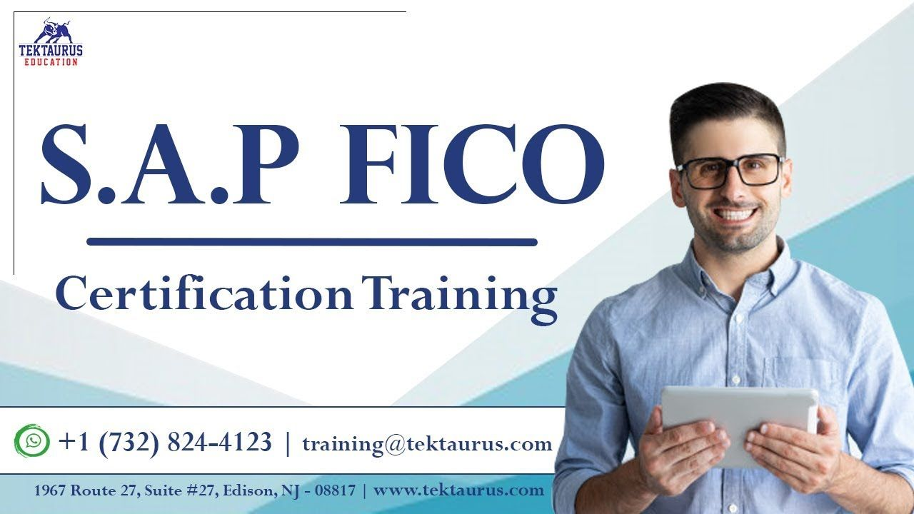S A P Fico Certification Training S A P Fico Course For Beginners Fi Education Medical Training Company Financials