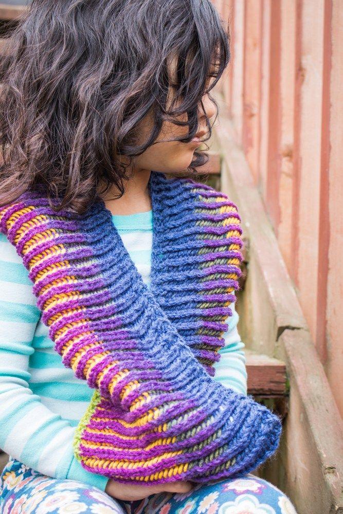 Brioche Wiz Cowl Free Knitting Pattern | Brioche knitting ...