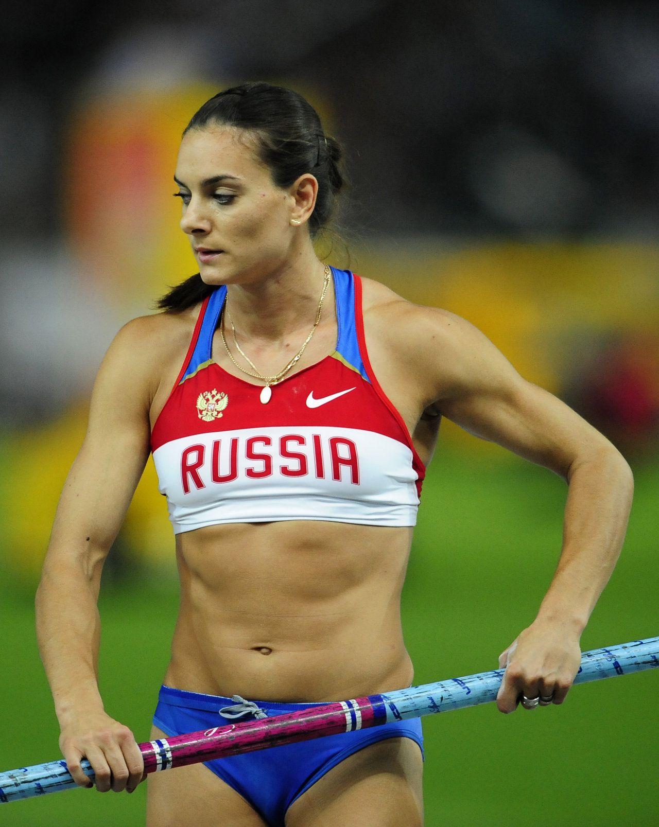 Jelena Isinbayeva gonn...