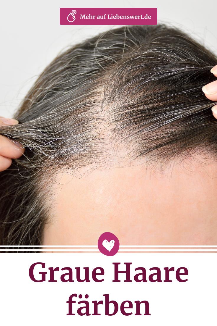 Graue Haare färben: Diese Haarfarben machen jünger   Graue