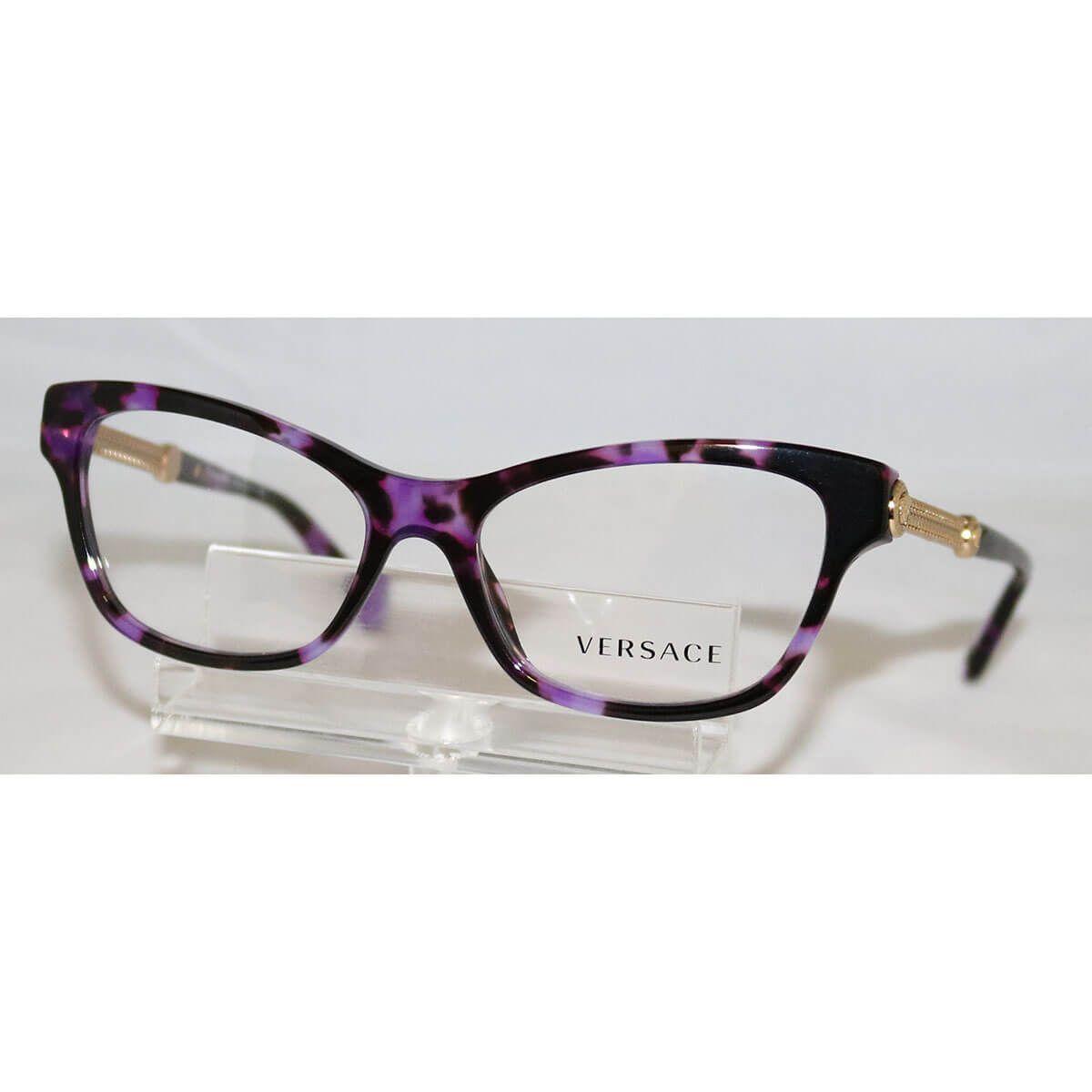 d8aaa09e78 Versace Violet Havana VE 3214 5152 Cat Eye eyeglasses 329.99  89.95 ...