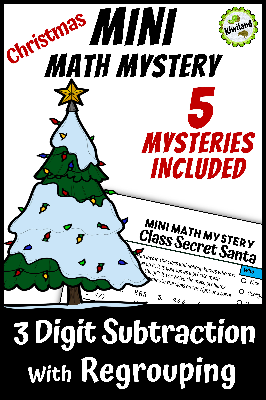 Mini Math Mystery Christmas