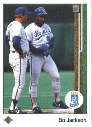 1989 Upper Deck 221 Bo Jackson Kansas City Royals Mlb