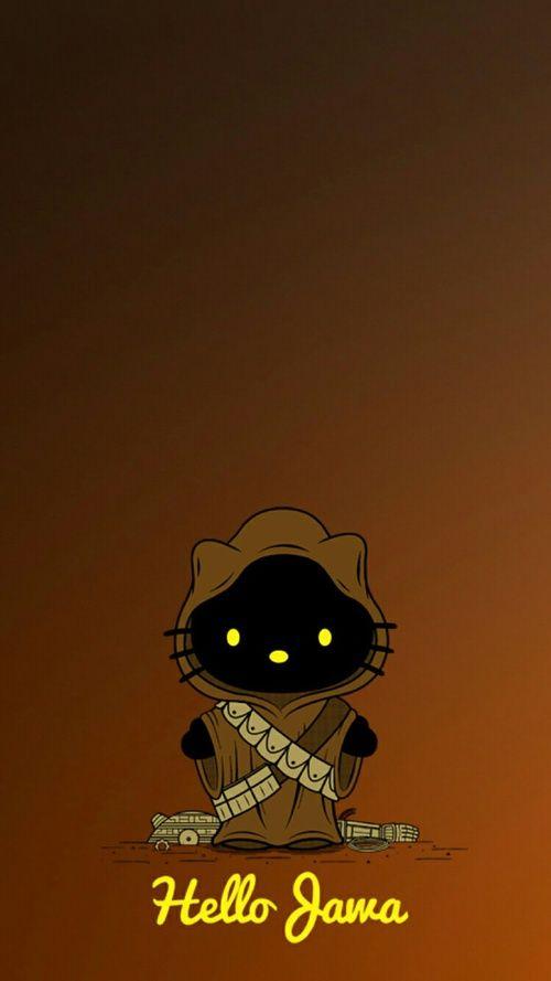 Star Wars Wallpaper And Jawa Image Hello Kitty