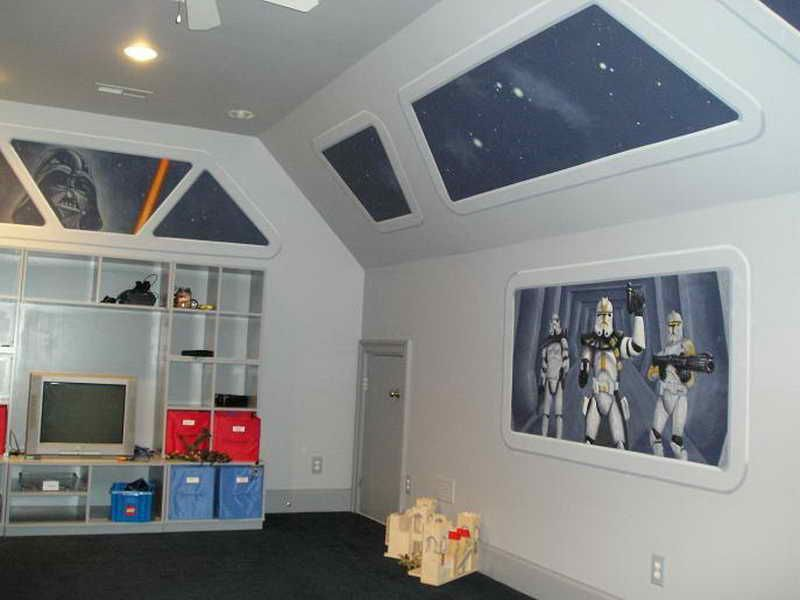 Top Star Wars Kid\'s Room | Bedrooms for Boys | Pinterest | Kid ...
