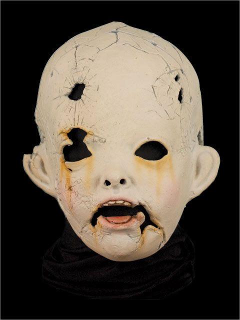 halloween mask creepy doll - Creepy Masks For Halloween