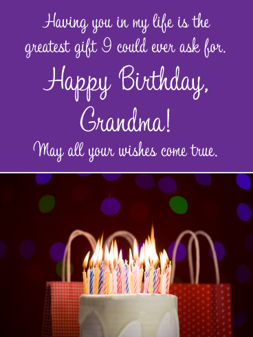 For A Special Nanna With Love..............Larger Birthday Greetings Card