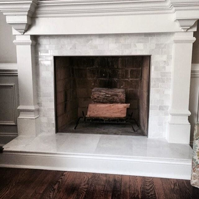 Meram Blanc Polished Amalfi Marble Mosaic Tile 12 X 12 In The Tile Shop Fireplace Tile Surround The Tile Shop Marble Mosaic Tiles