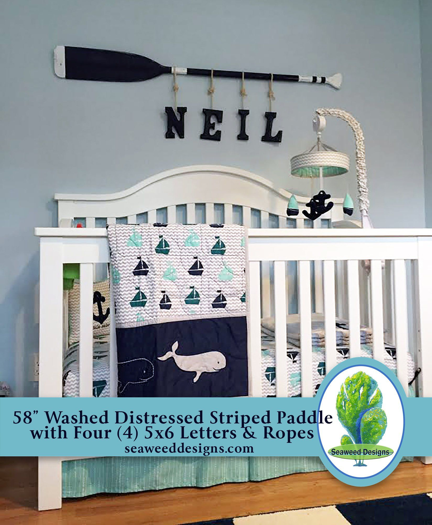 Nautical Decor Nursery Wall