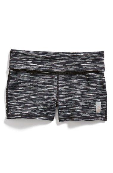 Zella Girl 'Namaste' Space Dye Shorts (Little Girls & Big Girls) available at #Nordstrom