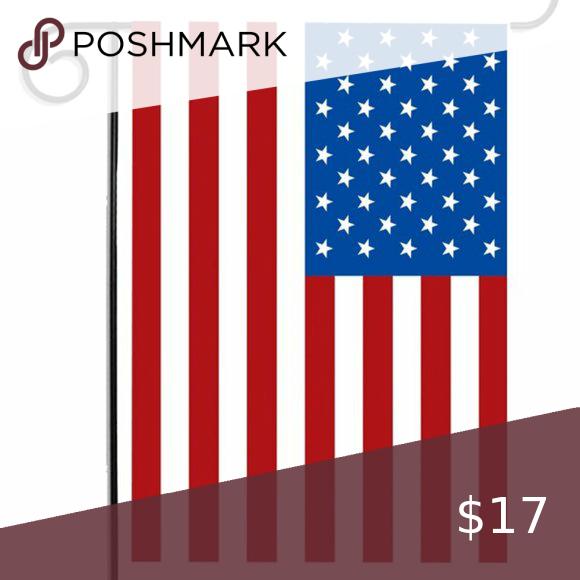 Garden Flag New Usa American Flag American Flag Colorful Decor Garden Flag Pole