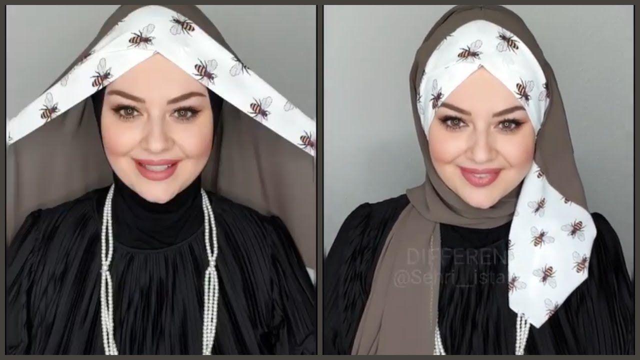لفات حجاب تركية جديدة 2019 الجزء الرابع Muslim Fashion Hijab Outfits Hijab Designs Stylish Scarves