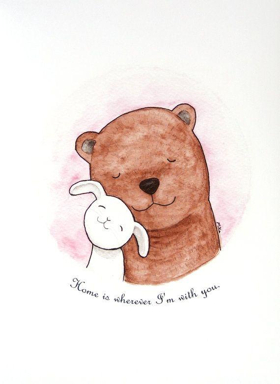 Bear & Bunny Love