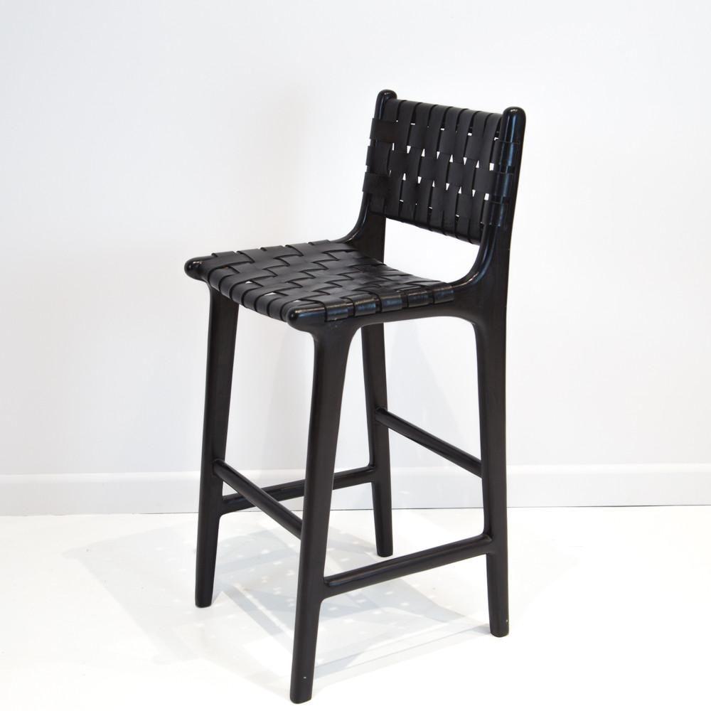 Furniture Corcovado Woven Bar Stools Bar Stools Leather Bar Stools