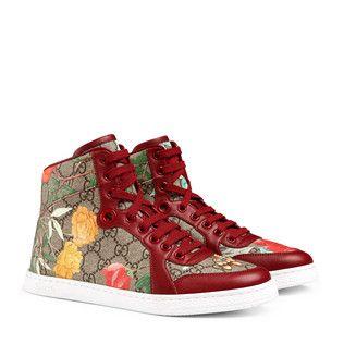3c7b72105bd Women s Gucci Tian high-top sneaker