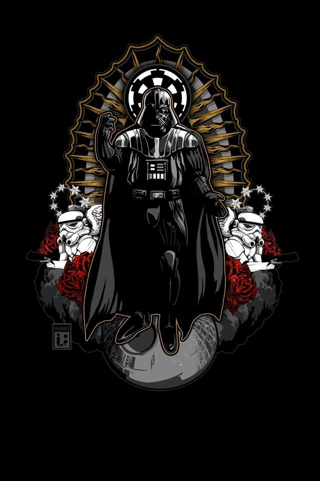 Darth Vader iphone hd wallpaper