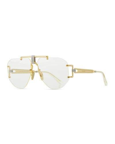 1a4e8013c0 Celine Rimless Aviator Sunglasses