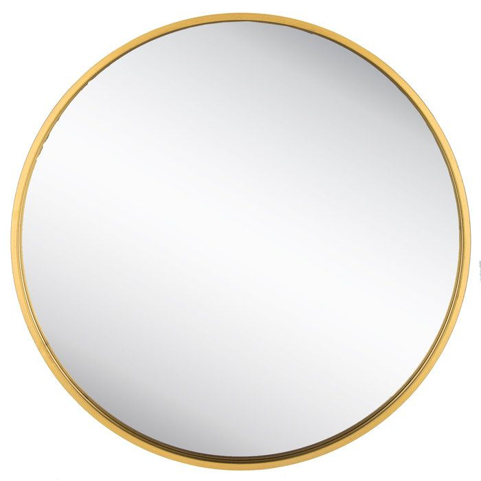 Round Gold Metal Wall Mirror With Images Mirror Wall Round Gold Mirror Gold Circle Mirror