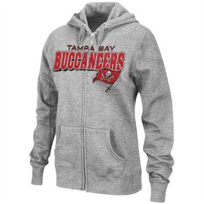 Tampa Bay Bucs Ladies Ash Football Classic Iii Full Zip Hoodie Sweatshirt Zip Hoodie Sweatshirt Hoodies Nfl Outfits