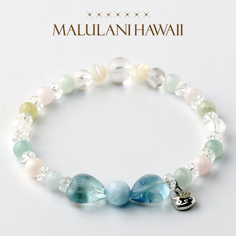 Official mail order site - Sanrio online shop healing Hello Kitty × Maru Lani Hawaii bracelet