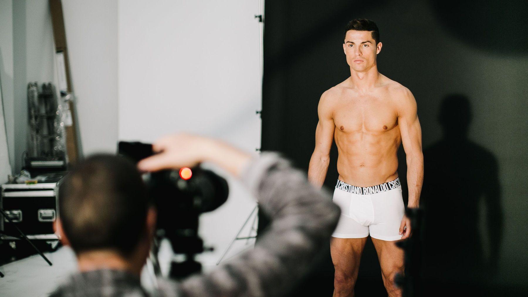 Cristiano Ronaldo Makes A Colorful Splash With New CR7 Underwear ...