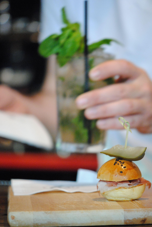 Harmonisation de bouchées et de cocktail / Food and drink pairing    Proxibar Mixologie