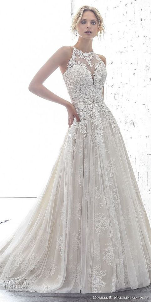 o-onek White Tulle Wedding Dress with Appliques,Off The ...