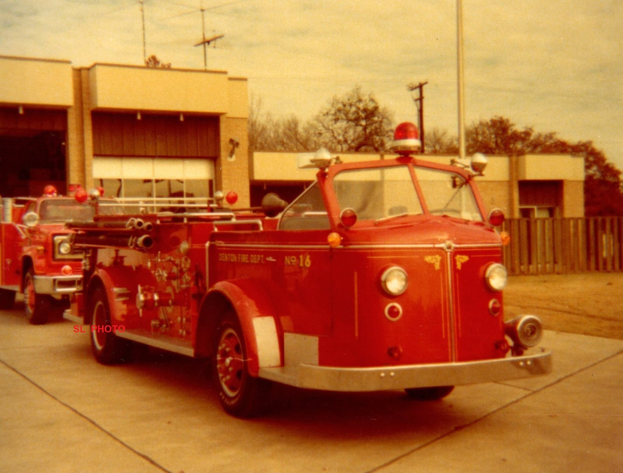 Former Pumper 16 (1953 American LaFrance) with a 750GPM pump and a