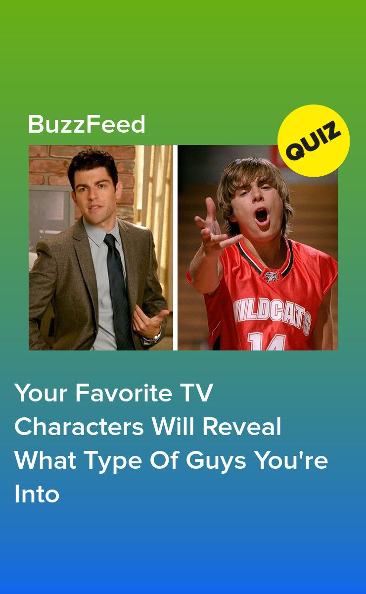 Your Favorite TV Characters Will Reveal What Type Of Guys You're