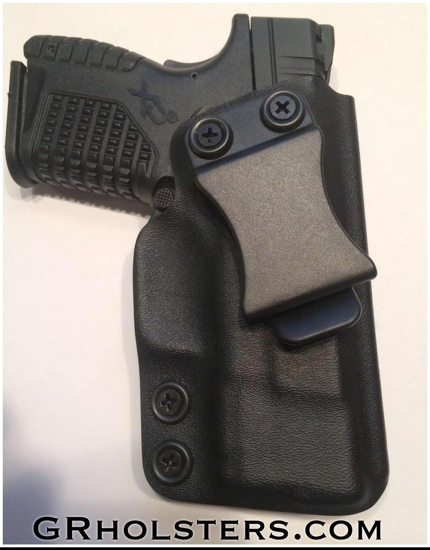 XDs IWB Kydex holster with adjustable retention  15 degree
