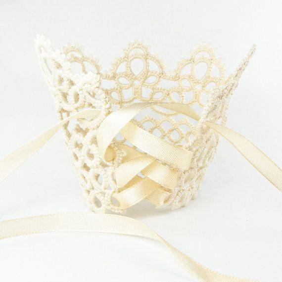 Bridal lace cuff bracelet  handmade wedding jewelry by Decoromana