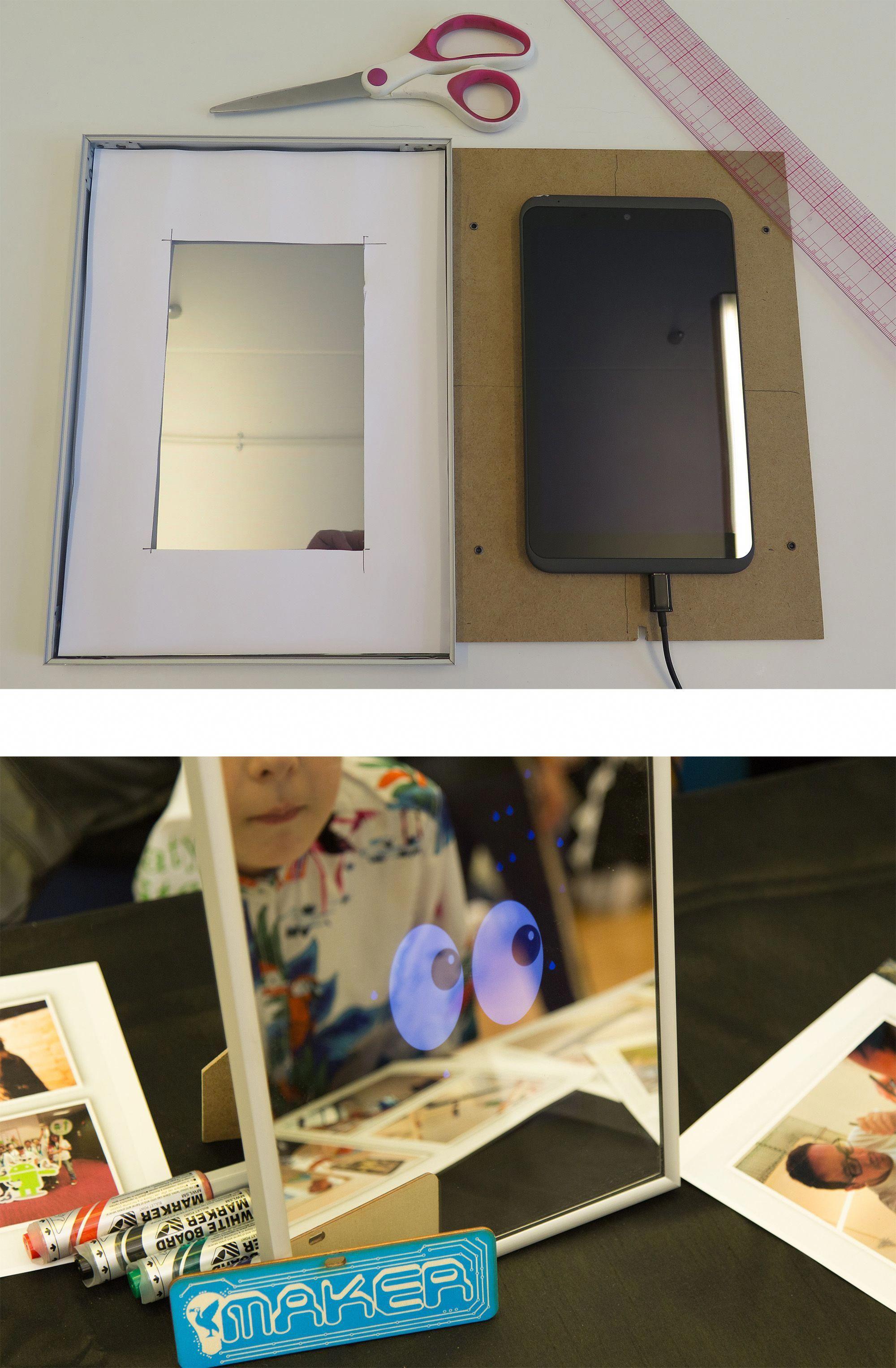 smart mirror diy project