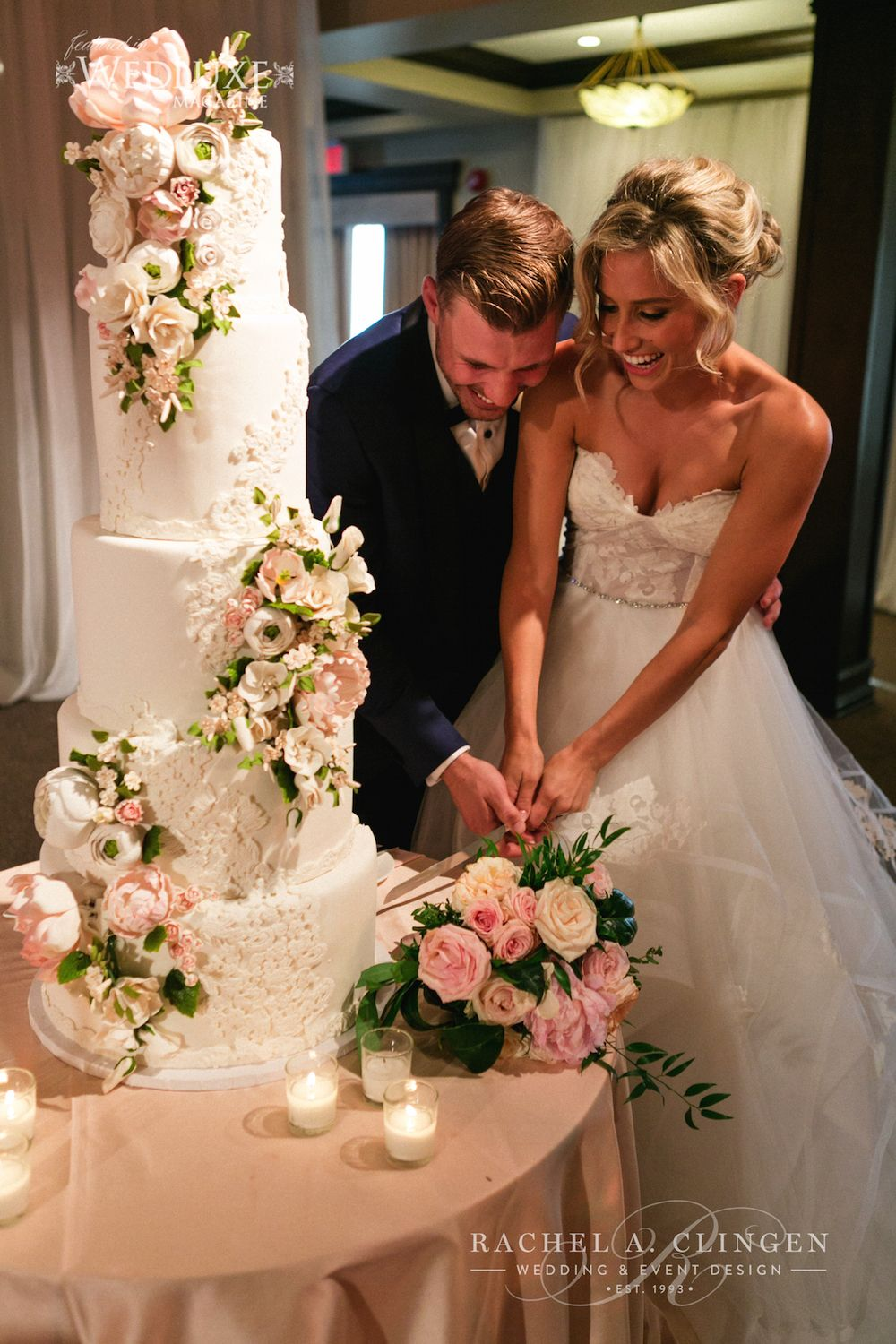 Guava wedding dresses  Rustic Romance For Casey And Kristyus Palais Royale Wedding