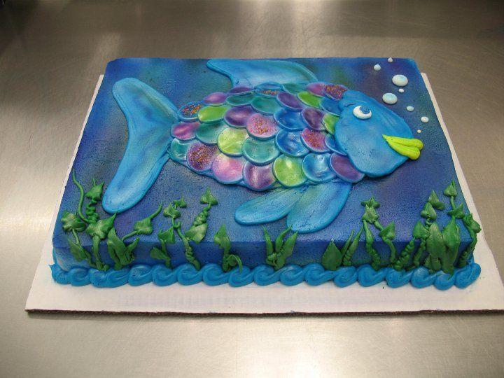Fish Sheet Cake, by Stephanie Dillon, LS1 Hy-Vee   Bakery ...