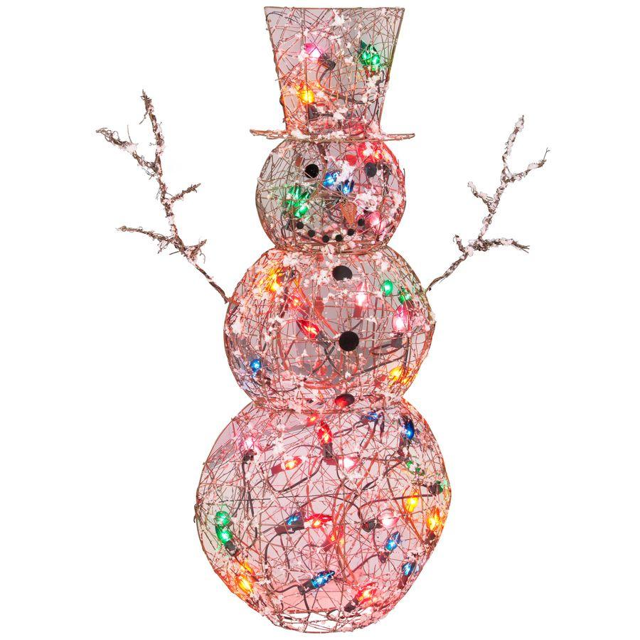 Shop Gemmy 1Piece 4.17ft Snowman Outdoor Christmas